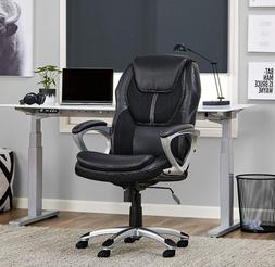 Serta 43673 Works Executive Office Chair, Faux Leather and M