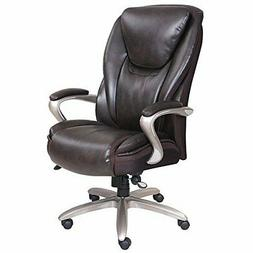 Serta Smart Layers Hensley Executive Big Tall Chair, Roasted