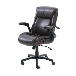 Serta AIR Lumbar Bonded Leather Manager's Leather Upholstery