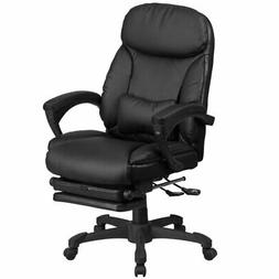 Flash Furniture High Back Black Leather Executive Reclining