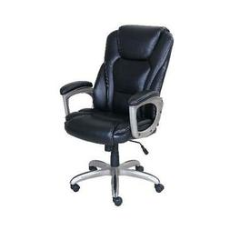 Serta Big & Tall Bonded Leather Commercial Office Chair with