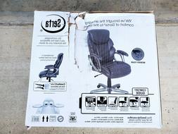 Serta Bonded Leather Manager's Office Chair - 47951 EC - Bla