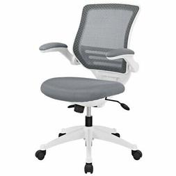 Modway Edge Mesh Back and Gray Mesh Seat Office Chair With W