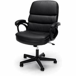 Essentials By Leather Executive Chair, Ergonomic Managers Co