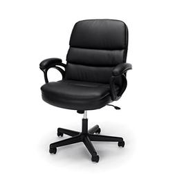 Essentials by OFM Leather Executive Chair, Ergonomic Manager