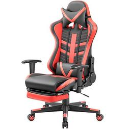 Homall Gaming Chair Ergonomic High-Back Racing Chair Pu Leat