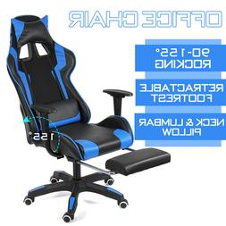 BestMassage Office Chair Gaming Chair Ergonomic Swivel Chair