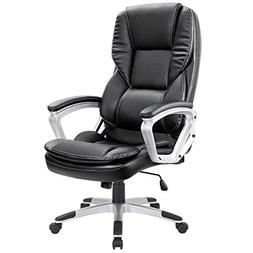 Homall High-Back Office Chair PU Leather Computer Desk Chair