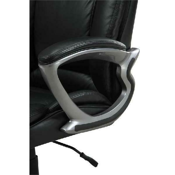 Serta & Tall Office Chair, Smooth Black