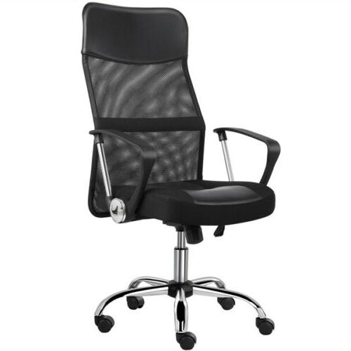 home office desk chairs high back ergonomic