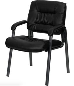Flash Furniture Leather Executive Side Chair - NEW