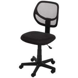 Low-Back Task Chair Without Arms Computer Desk Office Execut
