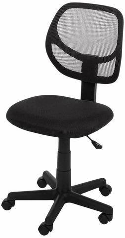 Computer Desk Office Executive W Swivel Caster Low-Back Task