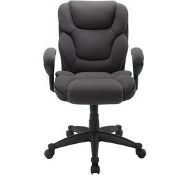 Manager Chair Computer Office Desk High Back Serta Gray Mesh