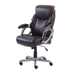 Serta Manager's Office Chair, Supports up to 250 lbs.-Brown