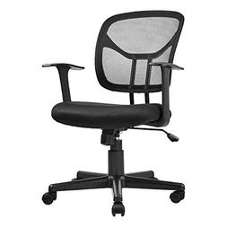 AmazonBasics Mid-Back Desk Office Chair with Armrests - Mesh