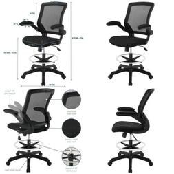 OpenBox  Modway Veer Drafting Stool-Chair 26L x 26W x 49.5H,