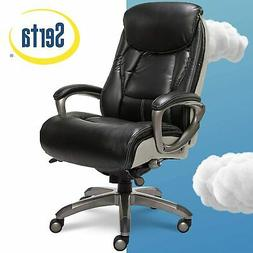 Serta Smart Layers Executive Tranquility Office Chair, Black