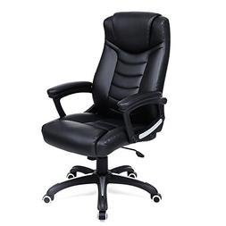 SONGMICS Thick Executive Office Chair with High Back Large S